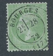 EB-314: FRANCE: Lot Avec N°35 Obl - 1862 Napoléon III.