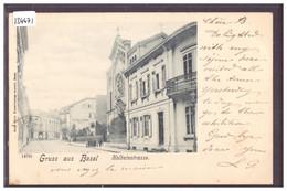BASEL - HOLBEINSTRASSE - TB - BS Bâle-Ville