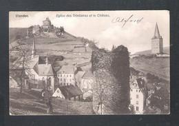 LUXEMBOURG -  VIANDEN - EGLISE DES TRINITAIRES ET LE CHATEAU    (L 036) - Vianden