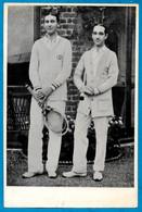 PHOTO Photographie De Presse - Sport TENNIS - André GOBERT & Max DECUGIS Vainqueurs Double WINBLEDON 1911 - Sports