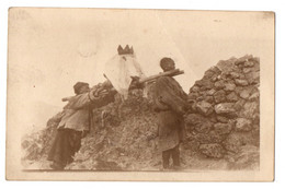 1900/10s THIBET / Tibet Burial Of Lama / Human Remainings W/ Crown PHOTO Postcard Chine CHINA Himalayas - Tibet