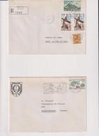 ANDORRE- 1 LR + 1 LS 1982-VOIR DOS - Lettres & Documents