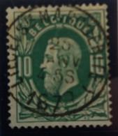Belgique  Oblitération Liege Ste Marguerite Sur N°30 - 1869-1883 Leopold II