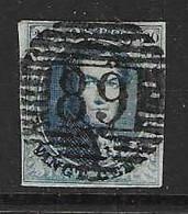 Medaillon Nr 7Aa Donkerblauw - 1851-1857 Medaillen (6/8)