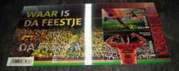 Belg. 2021 Waar Is Da Feestje? (2 Xnrs 3 EU) Voetbal - Fussball EK - Football - Coupe D'Europe (avec Effet Lenticulaire) - Unused Stamps