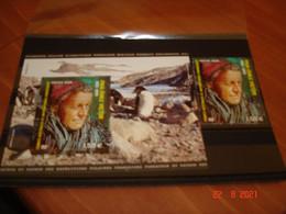 TAAF   ANNEE  2021   NEUFS    BLOC FEUILLET ET TIMBRE DU BLOC FEUILLET     PAUL-EMILE VICTOR  (1907-1995) - Collections (without Album)
