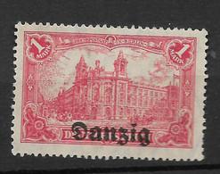 Danzig, Ungebrauchter Wert Der Überdruck-Ausgabe Vom 14. Juni 1920 - Danzig