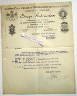 Fabriek Van Velos, Claeys Gebroeders, Rijwielen West-Vlaamsche Leeuw, De Kampioen, Zedelgem 1926 - 1900 – 1949