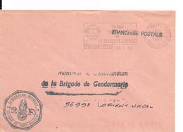 Lettre En Franchise Gendarmerie Saint-Maixent - Other