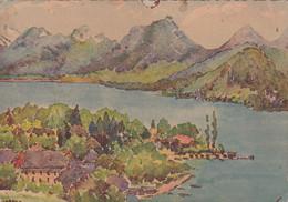 74, Lac D'Annecy, Talloires, Peinture - Talloires