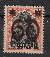 Danzig, Ungebrauchter Wert Der Überdruck-Ausgabe Vom 10. August 1920 - Danzig