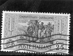 CG72 - 1932 Italia - Cent. Morte Di Giuseppe Garibaldi - Used