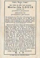 20 08 AL/2//  ° PEER 1815 + EXEL 1887   MARIA LOUIS - Religion & Esotericism