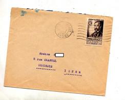 Lettre Flamme Muette Bordeaux Sur Arago - Mechanical Postmarks (Advertisement)