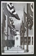 """Deutsches Reich 1938, Postkarte """"Stadt Der Reichparteitage"""" NÜRNBERG - Storia Postale"""