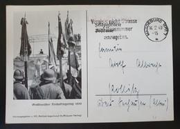 """Deutsches Reich 1939, Postkarte """"Großdeutscher Reichskriegertag"""" MAGDEBURG - Covers & Documents"""