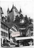 THUN Altstadtpartie Mit Schloss - BE Berne