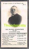 JULIUS ISIDORUS PATFOORT HOUTHEM HOUTEM VEURNE OOSTENDE BRUGGE PRISTER 1857 GENT 1921 - Images Religieuses