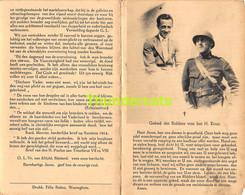 GEORGES DE GROOTE POLITIEK GEVANGENE KASTEEL HOUTHULST 1896 UITROEIINGSKAMP GROSS ROZEN 1944 - Devotion Images