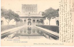 POSTAL  GRANADA  -ANDALUCIA  -ALHAMBRA-PATIO DE LOS ARRAYANES - Granada