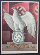 Deutsches Reich 1937, Postkarte Reichparteitag NÜRNBERG Ungebraucht - Storia Postale
