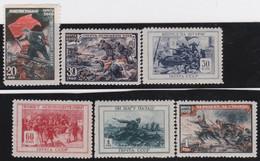 Russia   .  Michel    .   953/958     .   *    .   Mint-hinged    .   /  .   Ungebraucht Mit Gummi - Unused Stamps