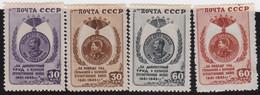 Russia   .  Michel    .   1003/1006     .   *    .   Mint-hinged    .   /  .   Ungebraucht Mit Gummi - Unused Stamps