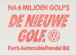 Meter Cut Netherlands 1983 Car - Volkswagen Golf - VW - Voitures