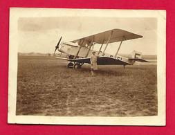 Deux Photographies Datées De 1928 - Seine - Le Bourget - Aéronefs Au Sol - Aviation