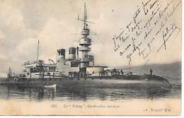 A/383              Le Valmy -  Garde-cotes Cuirassé - Warships