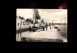 1575-AMPSIN-ecluse -peniche Vapeur Stoompeniche -cafe DEHAAS HERMAN-eclusier-->VAL ST LAMBERT - Amay