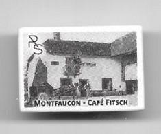 Fève  Village  Près  De  Besançon, MONTFAUCON - CAFÉ  FRITSCH  ( 25 ) Reproduction  C P A - Sonstige