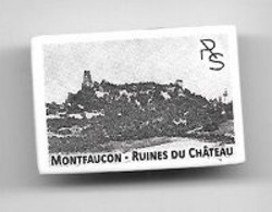 Fève  Village  Près  De  Besançon, MONTFAUCON - RUINES  DU  CHÂTEAU  ( 25 )  Reproduction  C P A - Sonstige