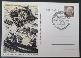 Deutsches Reich 1941, Postkarte P243 Bild 06 BERLIN Sonderstempel - Storia Postale