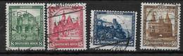Deutsches Reich,   Guter, Gestempelter Satz Der Nothilfe-Ausgabe Von 1931 - Gebruikt