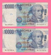 Italia 10.000 Lire Alessandro Volta Ciampi Speziali E Stevani - 10 000 Lire