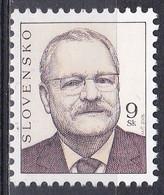 Slowakei Slovakia 2005 Geschichte Persönlichkeiten Politiker Politician Präsident President Gasparovic, Mi. 518 ** - Neufs