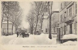 MORBIER (Jura)  - Rue Principale (effet De Neige) - Sonstige Gemeinden