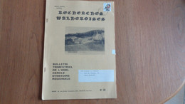 RECHERCHES WALHEROISES N° 25 Régionalisme Onhaye Anthée Histoire Serville Brasserie Baudart Sosoye Légendes Meuse - Belgium