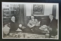 """Deutsches Reich, FOTO """"Adolf Hitler Mit Gästen"""" - Saubere Ehrhaltung - Storia Postale"""