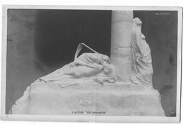 CPA SALON DE PARIS  1905 FEMME SEIN NUS MORT S NIELSEN  VIE TERRESTRE - Pintura & Cuadros