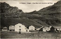 CPA AK Alagna IN VALSESIA-Alpe Sevy Sulla Mulattiera ITALY (499896) - Other Cities