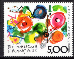 FRANCE 1988 - (**) - N° 2557 - Série Artistique - J. TINGUELY - Nuevos