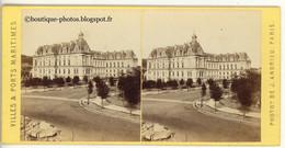 Stéréo Le Havre Hôtel De Ville (Coté Ouest) Ca1870 / ST220 - Stereoscoop