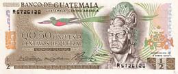 Guatemala 1/2 Quetzal, P-58b (2.1.1974) - UNC - Guatemala