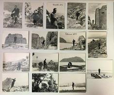 08967 Foto D'epoca 114 - Lotto 16 Fotografie B/n - Mondello - Capo Gallo Palermo 1957 - Luoghi
