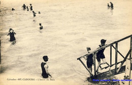 14 - Cabourg - L'heure Du Bain - 1924 - Cabourg