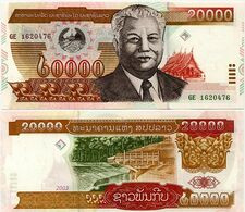 LAOS       20,000 Kip       P-36b       2003       UNC  [ 20000 ] - Laos