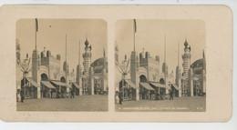 PHOTOS STEREO - CIRCA 1900 - BELGIQUE - LIEGE - EXPOSITION DE LIEGE 1905 - La Porte De Fragnée - Stereoscopic
