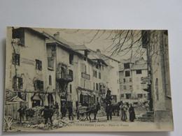 HAUTES ALPES-GUILLESTRE-71-PLACE DU PORTAIL- ED V FOURNIER ANIMEE - Guillestre